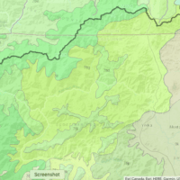 Ecoregion 78g: Klamath River Ridges